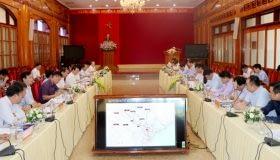 Yên Bái – Hà Giang thống nhất nội dung triển khai Dự án đường cao tốc nối cao tốc Nội Bài – Lào Cai với cửa khẩu Thanh Thủy